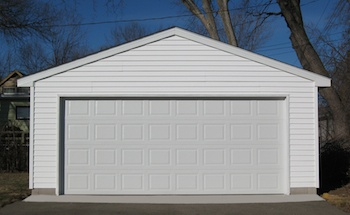 18 free diy garage plans with detailed drawings and for How big is a standard two car garage