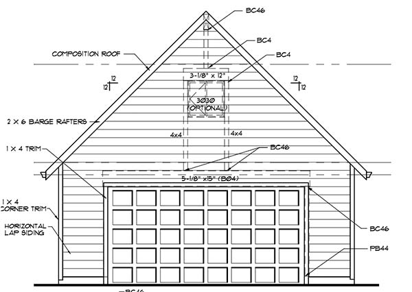 18 Free DIY Garage Plans with Detailed Drawings and Instructions – 2 Car Garage With Loft Plans