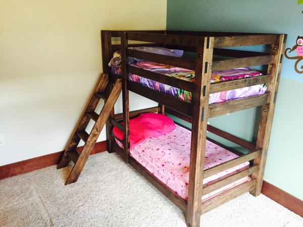 These Beds Are Clearly Made For Smaller Children As Well But They Also Look Very Easy To Build The Design Is Not A Complicated One