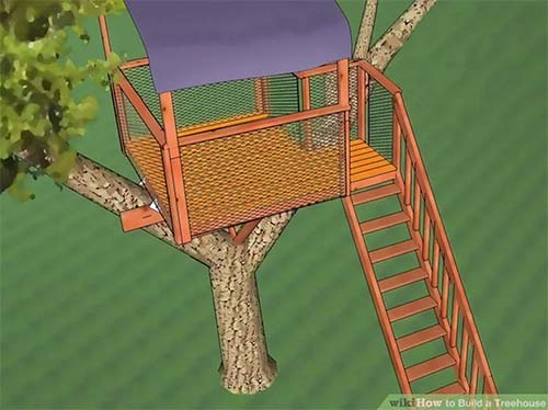 30 DIY Tree House Plans Design Ideas for Adult and Kids 100 Free
