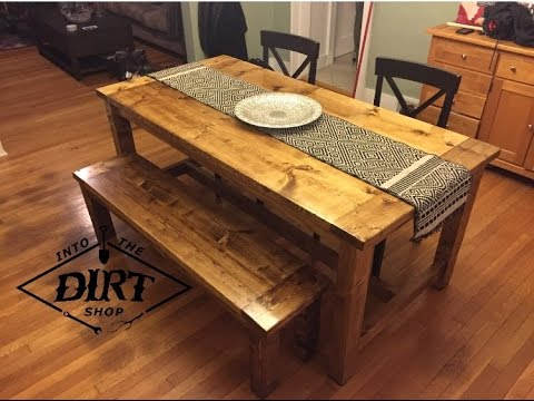 This Table Is Another One That Is Very Basic. The Table Design Itself Looks  Super Simple. And Building The Bench Doesnu0027t Appear That Challenging Either.