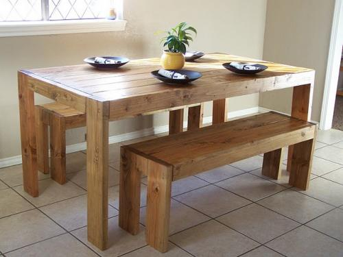 This Table Is Another Design That Looks Easier To Build. But It Also Has  Plenty Of Room For Lots Of Guests Too.