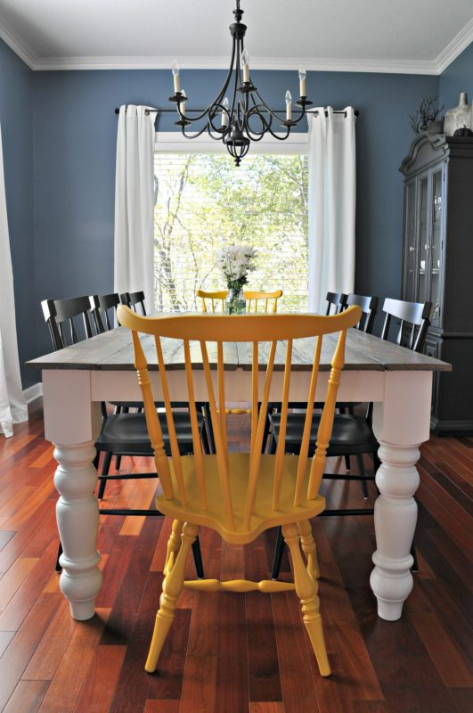 This Is A Table That Would Take A Larger Kitchen Or Dining Area. But It  Sure Is Beautiful. It Has A Solid Wood Top.