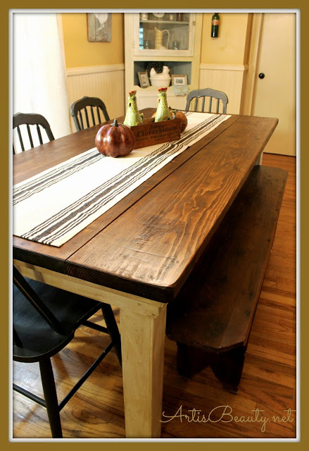 Perfect This Farmhouse Table Is Another One That Would Be Great For Everyday Use.  And It Would Also Add A Lovely Bit Of Charm To Your Kitchen.