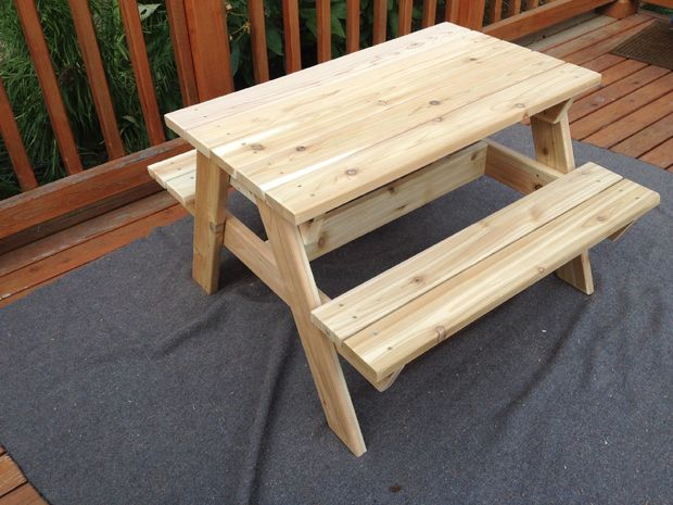 Exceptionnel This Is Another Project That Would Be Great For Those That Are Just  Starting Out With Carpentry. So If You Are In The Market For A Kidu0027s Picnic  Table And ...