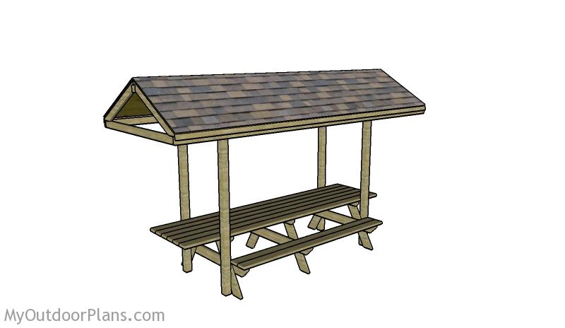 Free DIY Picnic Table Plans For Kids And Adults - High end picnic table