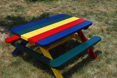 Free DIY Picnic Table Plans For Kids And Adults - Picnic table paint colors