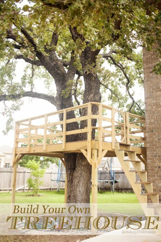 This Is Another Tree Deck That, Naturally, You Can Build Yourself. I Think  This Would Be An Amazing Area That Adults Could Go To Read.
