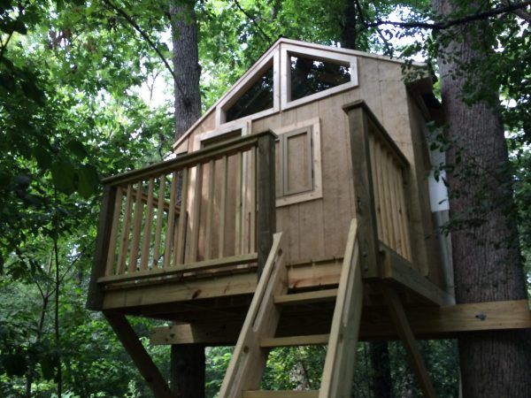 treehouse plans platform this tree house plan reminds me of what rustic cabin might resemble the windows would give lots sunlight 30 diy tree house plans design ideas for adult and kids 100 free