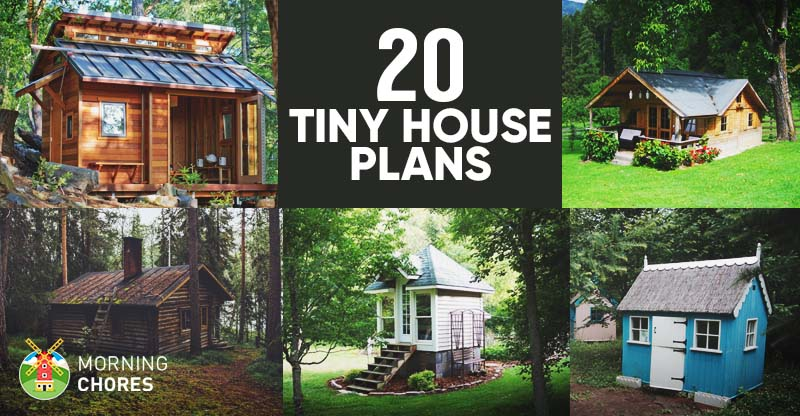 20 free diy tiny house plans to help you live the small for Build as you go house plans
