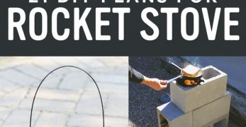 21 Free DIY Rocket Stove Plans