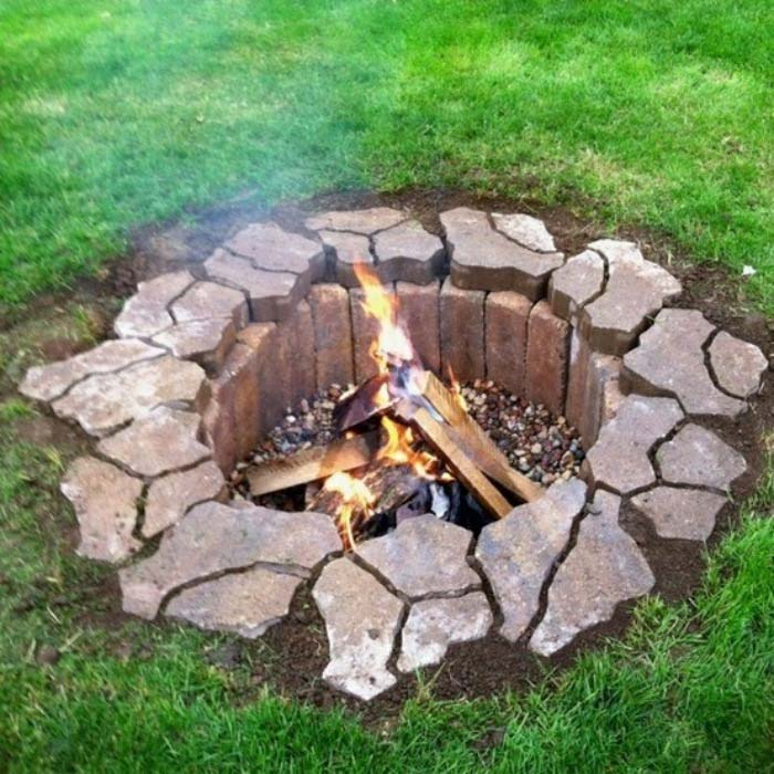 build-a-one-day-fire-pit - 57 Inspiring DIY Outdoor Fire Pit Ideas To Make S'mores With Your Family