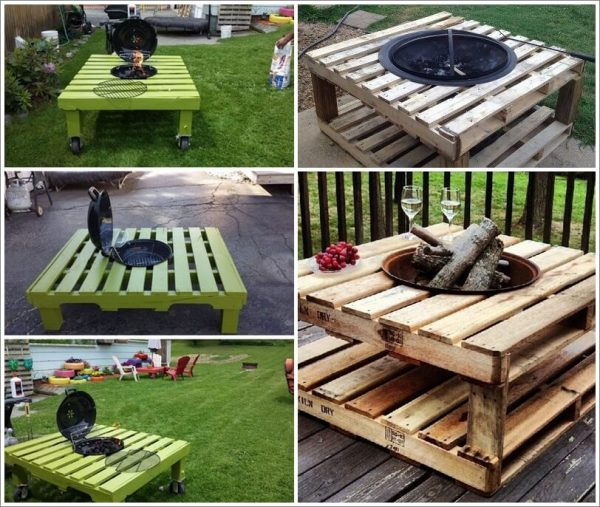 You Ve Seen Over And In This Article How People Will Slide Fire Pit Bowls Inside Of A To Keep The Wood Off Ground