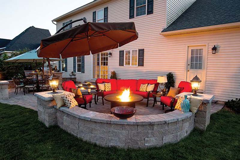 fire-pit-design-ideas - 57 Inspiring DIY Outdoor Fire Pit Ideas To Make S'mores With Your Family