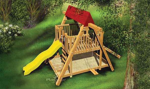 34 free diy swing set plans for your kids 39 fun backyard for Build a home online