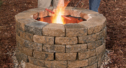 This Fire Pit Is Another Variation Of A Circular But What I Love About One That The Instructions Are So Detailed