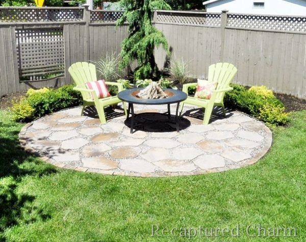 57 Inspiring DIY Outdoor Fire Pit Ideas