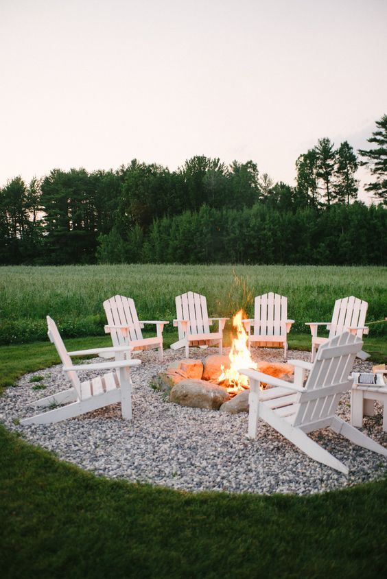 57 inspiring diy outdoor fire pit ideas to make smores with your family this is a wonderful outdoor oasis it has a basic rock fire pit you could buy these rocks or just gather them yourself if you live near a body of water solutioingenieria Image collections