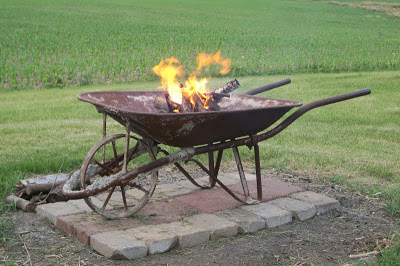 This post doesn't go into great detail on how to actually construct this fire  pit. However, I think it is safe to say that between the picture and  Google, ... - 57 Inspiring DIY Outdoor Fire Pit Ideas To Make S'mores With Your Family