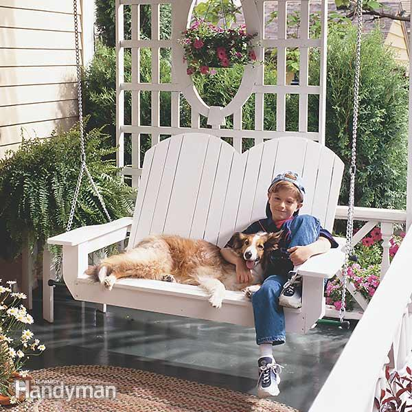 23 free diy porch swing plans ideas to chill in your front porch the high back porch swing ps20 solutioingenieria Images