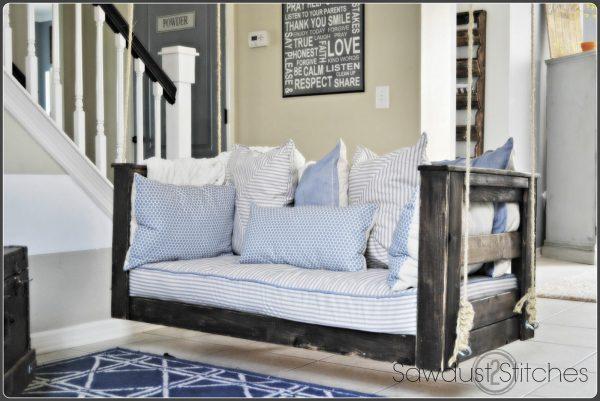 Front Porch Crib Bench