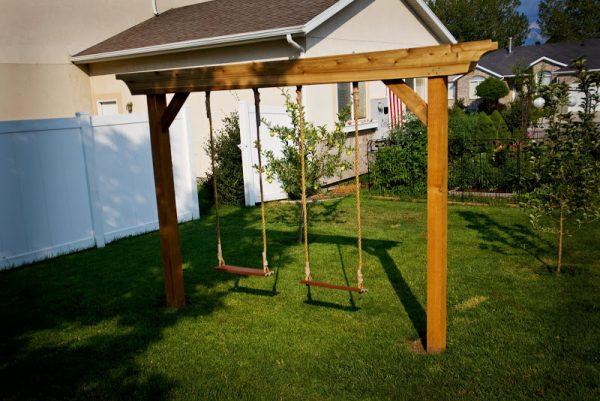 34 Free Diy Swing Set Plans For Your Kids Fun Backyard Play Area