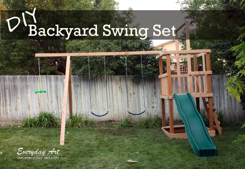 34 Free Diy Swing Set Plans For Your Kids Fun Backyard Play Area
