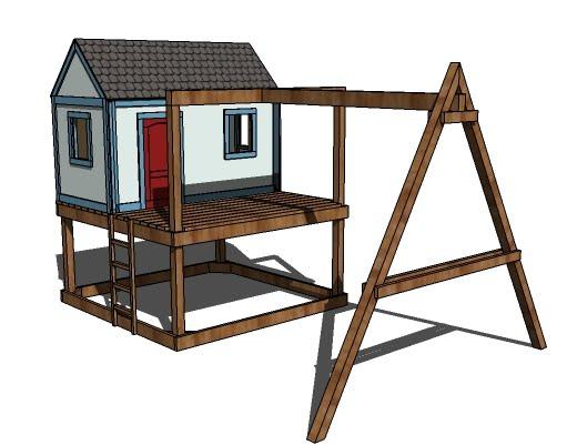 34 Free DIY Swing Set Plans for Your Kids\' Fun Backyard Play Area