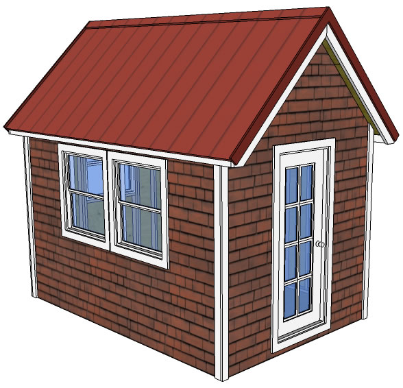 20 free diy tiny house plans to help you live the small for Basic tiny house plans