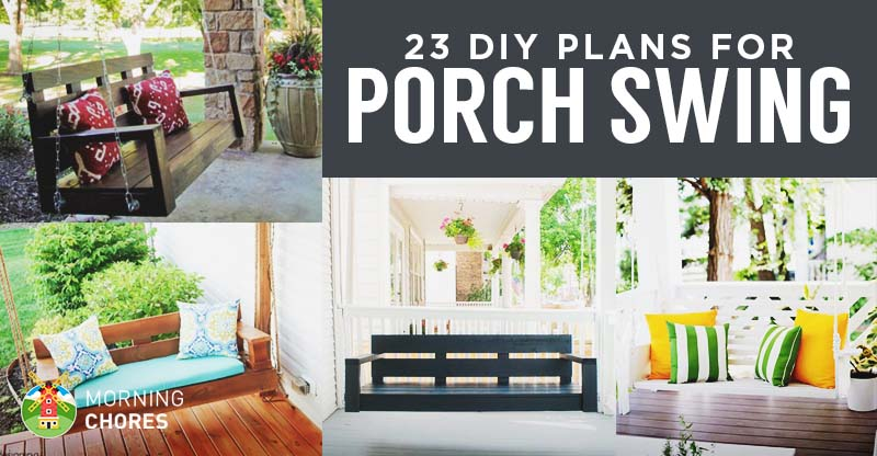 23 free diy porch swing plans ideas to chill in your front porch solutioingenieria Gallery