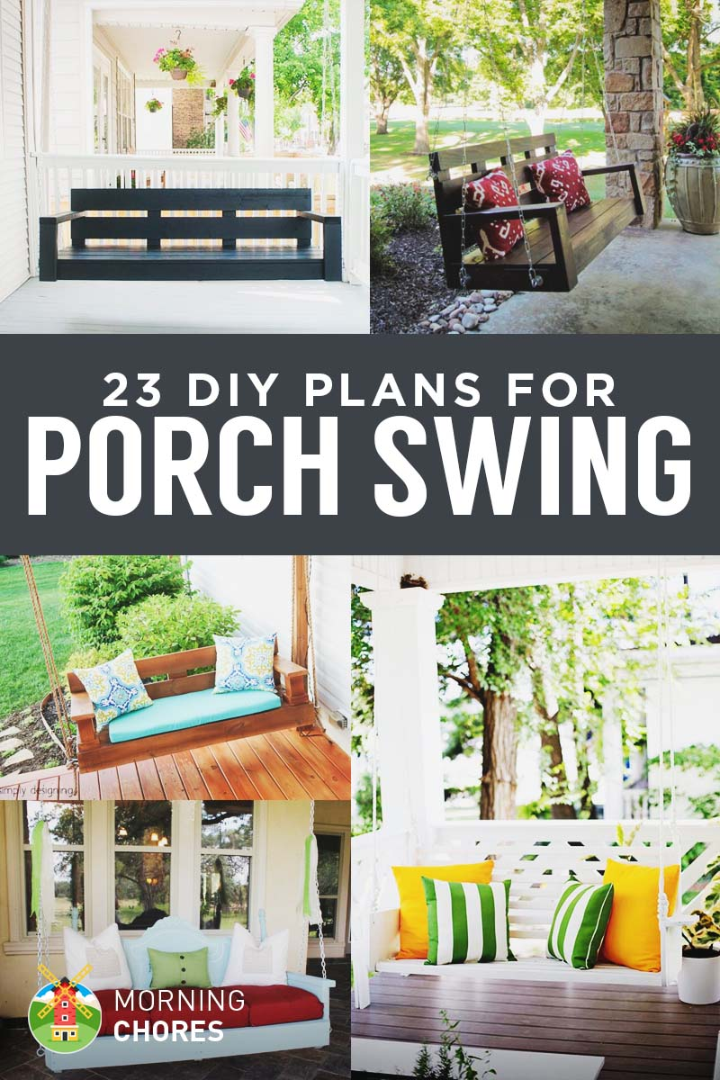 23 free diy porch swing plans ideas to chill in your front porch solutioingenieria Images
