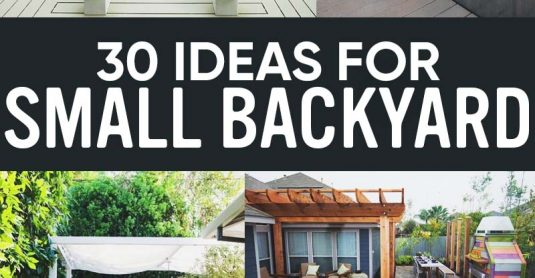 30 Small Backyard Ideas