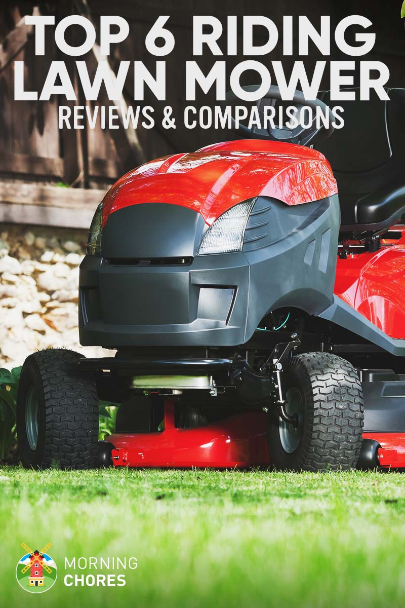 6 Best Riding Lawn Mower Reviews