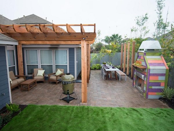 Design For Backyard 30 small backyard ideas that will make your backyard look big
