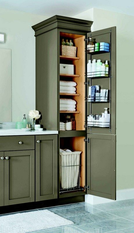 bathroom-ideas-all-out-cabinet & 29 Space-Efficient Bathroom Storage Ideas that Look Beautiful