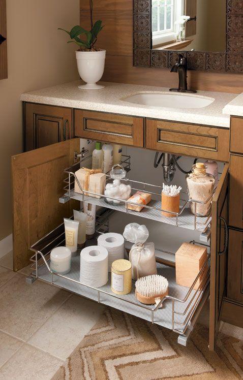 Bathroom Ideas Sink Sliding Shelf