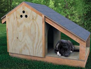 36 free diy dog house plans ideas for your furry friend the step by step dog house malvernweather Image collections