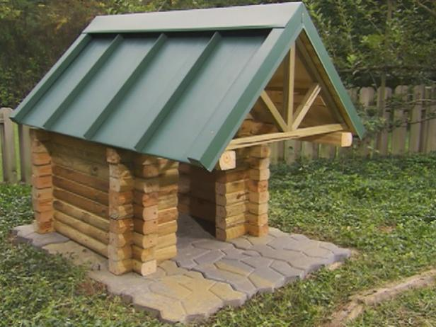 The Log Cabin Dog House