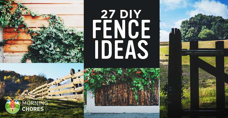 27 cheap diy fence ideas for your garden privacy or for Least expensive house to build