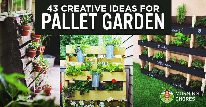 43 Gorgeous Diy Pallet Garden Ideas To Upcycle Your Wooden Pallets - Pallet-garden-ideas