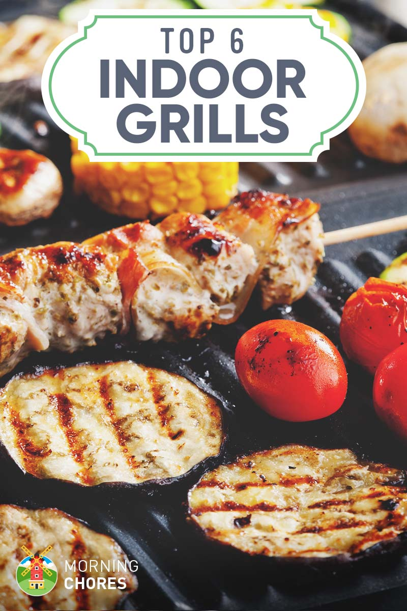 6 Best Electric Indoor Grills Reviews And Comparisons