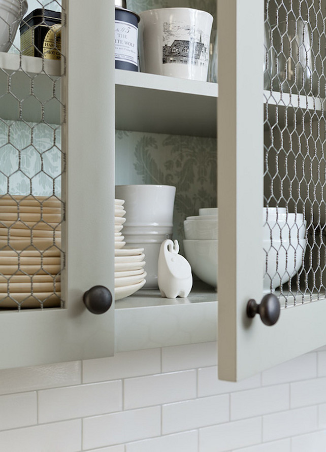 Exceptional Diy Kitchen Furniture. 2. The Chicken Wire Cabinet Doors Diy Kitchen  Furniture 0