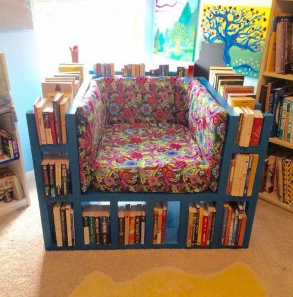 49 the book shelf chair - Diy Bookshelf