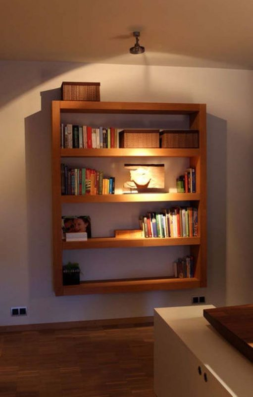 I Really Like The Design Of This Bookshelf. It Reminds Me Of The Childrenu0027s  Bookshelf I Showed Earlier In This Post. It Is Great Because It Hangs On A  Wall ... Gallery