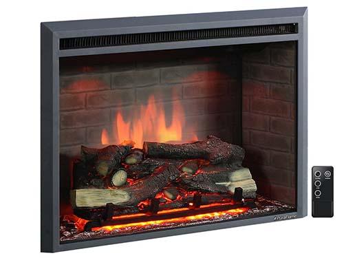 Puraflame Western 33 Inch Insert Electric Firebox Heater