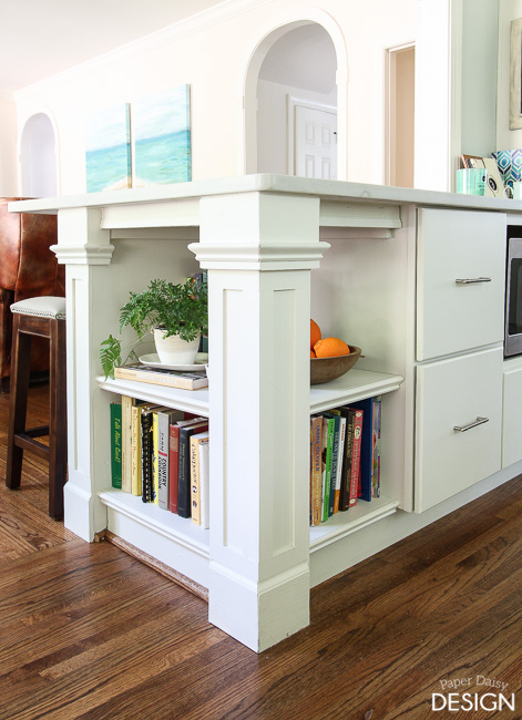 The Custom Kitchen Bookcase