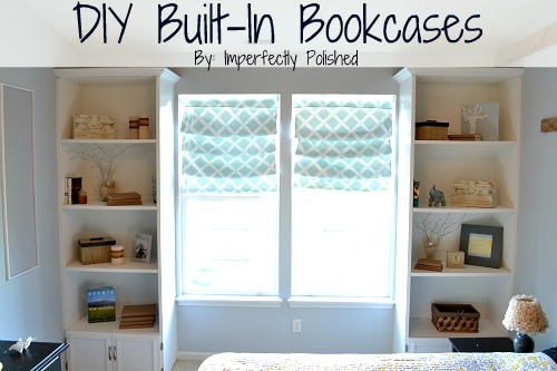 Diy Built In Book Case Tutorial