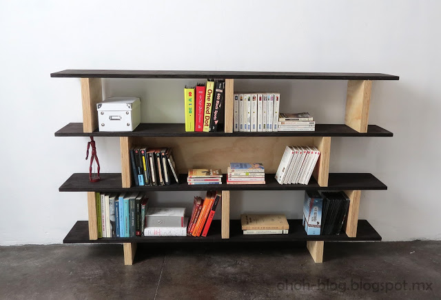 Delightful It Appears Super Simple To Build. Basically, She Used Wood Supports For The  Shelves And Then Placed The Shelving.
