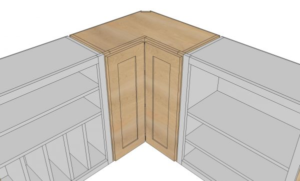 21 diy kitchen cabinets ideas plans that are easy cheap to build wall corner pie cut kitchen cabinet malvernweather Images