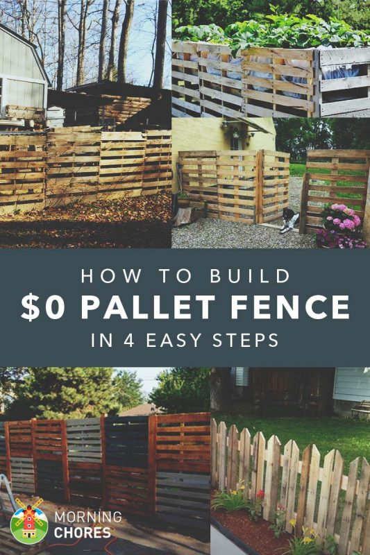 We Actually Wrote An Article Almost A Year Ago On How To Create A Fence Out  Of Pallets For Almost No Money.